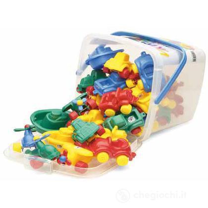 Mini chubbies buckets: set 30 pezzi - Secchiello
