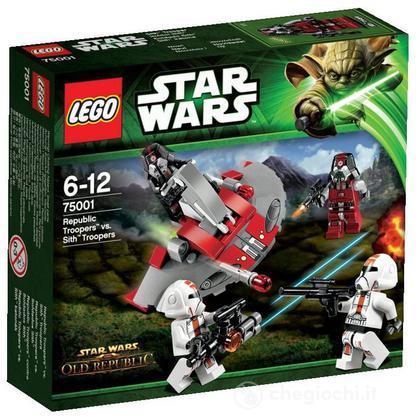 Republic Troopers vs. Sith Troop - Lego Star Wars (75001)