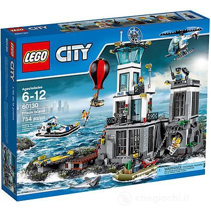 La caserma della polizia dell'isola - Lego City Police (60130)