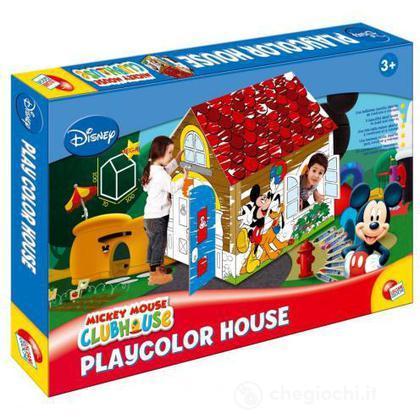 Mickey crea la casa gigante