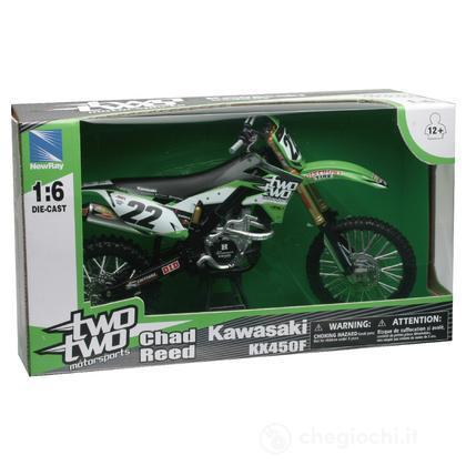 Moto Racing Dirt Bike Kawasaki Two KX450F 1:6 (49493)