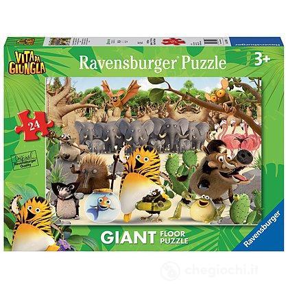 Vita da giungla - Gli eroi della giungla ti aiutano 24 Pezzi Giant (05495)