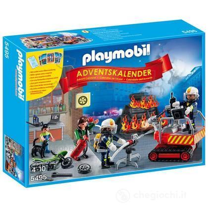 """Calendario Dell'Avvento """"Pompieri in Azione"""" con Card Game (5495)"""