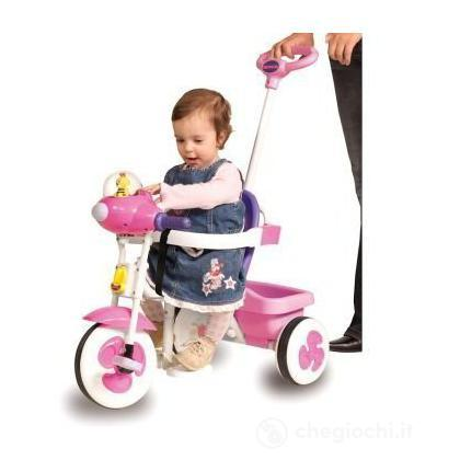 Triciclo 1495-RS  Baby Rosa