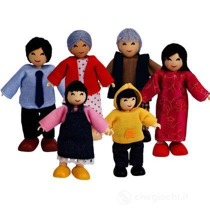 Famiglia Asiatica (E3502)