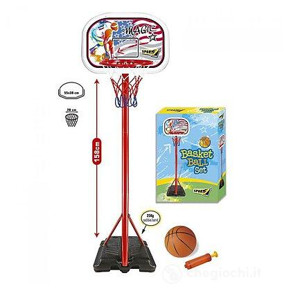 Piantana Basket Magic Altezza cm. 158