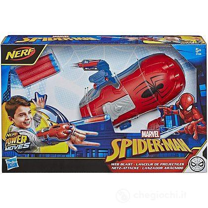 Spider-Man Web Blast Power Moves Blaster Lancia dardi