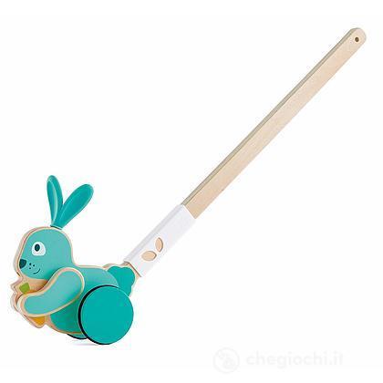 Coniglio da spingere in legno (E0358)