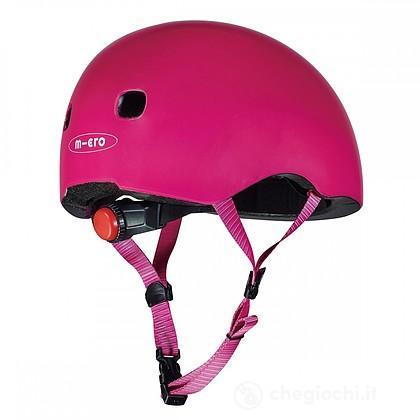 Casco con luce rosa M (MP39781)