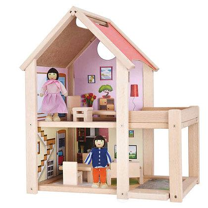Casa delle bambole in legno (100002501)