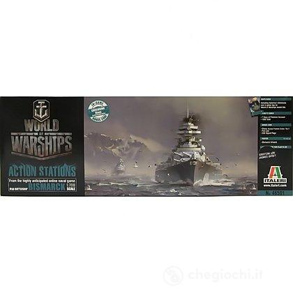 Nave da guerra World of Warships - German Battleship Bismarck (46501S)