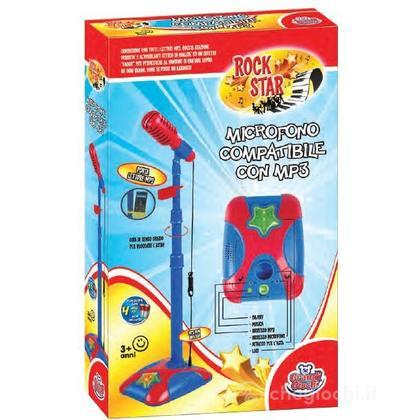 Asta con microfono con mixer (GG62501)