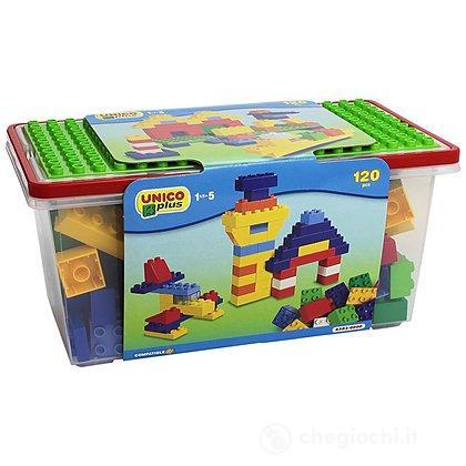 Unico Plus Box costruzioni compatibili 120 pezzi (104114301)