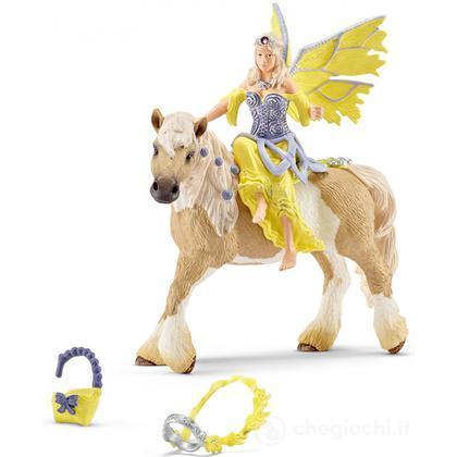 SCHLEICH Bayala marweens strisce puledri puledri cavallo elfi mondo personaggio del gioco 70530