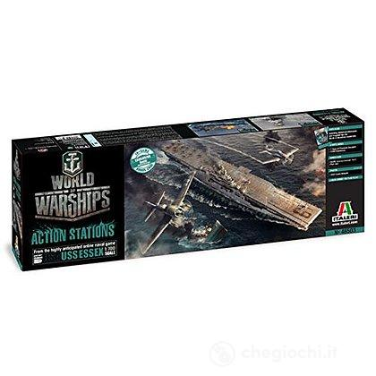 Nave U.S.S. Essex. World Of Warships 1/700 (IT46503)