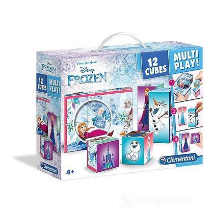 Valigetta Cubi 12 pezzi Frozen (41503)