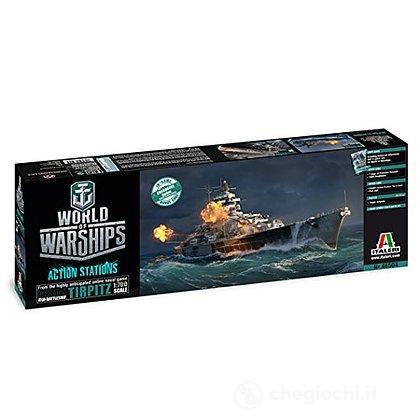 Nave Tirpitz World Of Warships 1/700 (IT46504)