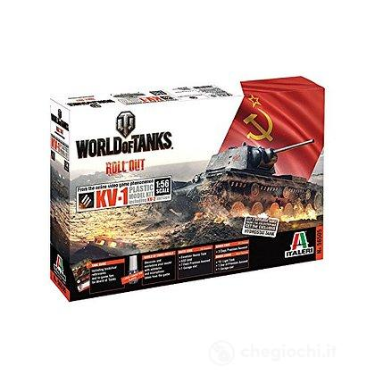 Carro armato World Of Tanks Kv-1 1/56 (IT56505)