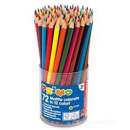 72 matite colorate in 12 colori