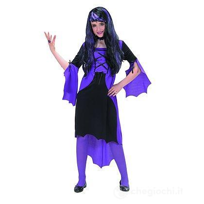 Costume Vampiressa Viola 5-7 anni