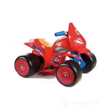 Quad flames spider man ccp15053 automobiline e moto elettriche giochi preziosi - Quad spiderman ...
