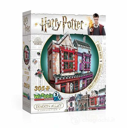 3D Puzzle Harry Potter Quality Quidditch Supplies 305 pezzi (W3D-0509)