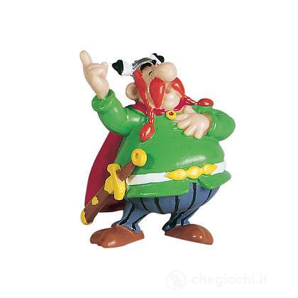 Asterix - Mini Figure Abraracourcix Il Capo Altezza 5,7 Cm (60509)