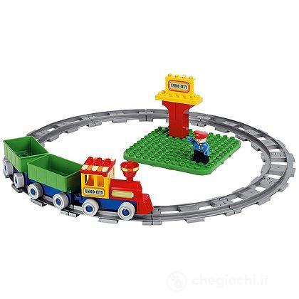 Secchiello Costruzioni Treno con Binari (8509)