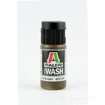Colore acrilico wash 20 ml Marrone scuro (4951AP)
