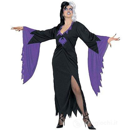 Costume Adulto Strega Morticia Halloween XL