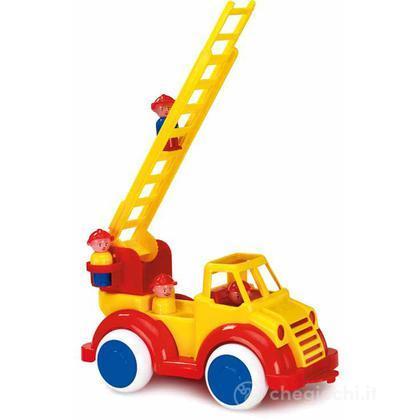 Super camion - camion pompieri con 2 personaggi