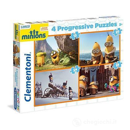 Puzzle 12+20+24+35 pezzi (21511)