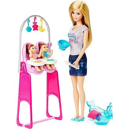 Barbie babysitter - Barbie I Can Be! Playset (CKJ22)
