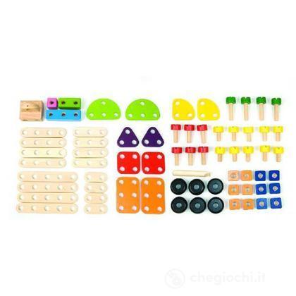 Set costruzioni 69 pezzi