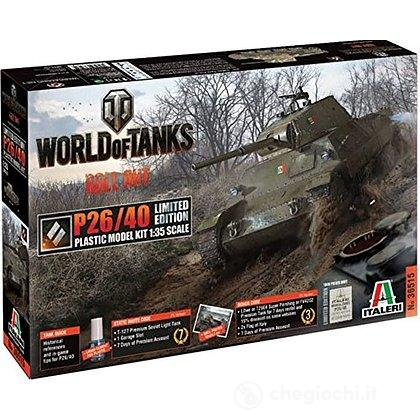 Carro Armato World Of Tanks P26/40 Limited Edition 1/35 (IT36515)