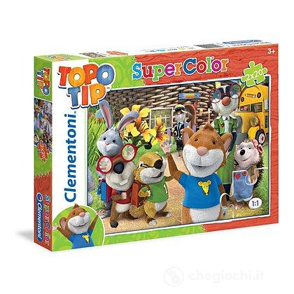 Topo Tip Puzzle 2x20 pezzi (24515)