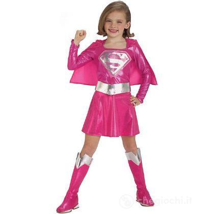 Costume Supergirl rosa taglia M (882751)