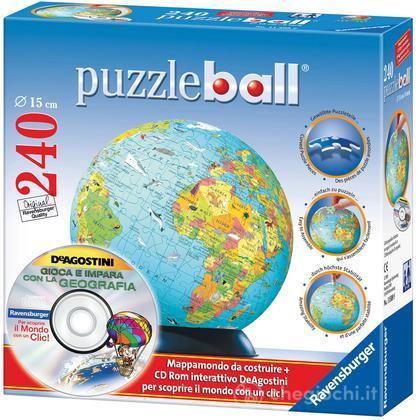 Mappamondo puzzleball©