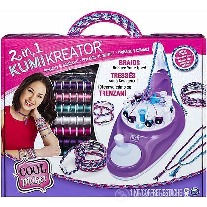 Cool Maker Macchina Per Braccialetti E Collane Kumikreator 2 In 1