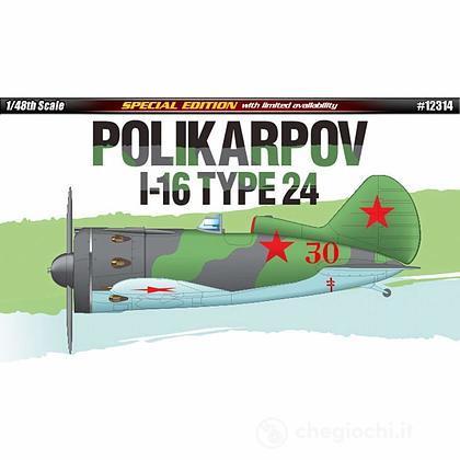 Aereo POLIKARPOV I-16 TYPE 24 1/48 (AC12314)