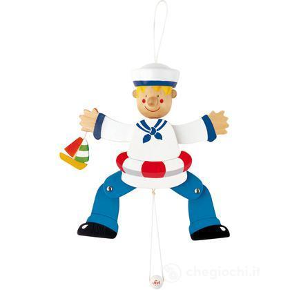 Burattino mestieri marinaio