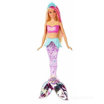 Barbie Sirena Luci Brillanti (GFL82)