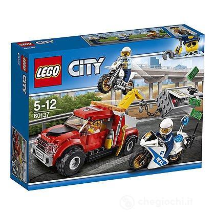 Autogrù in panne - Lego City (60137)