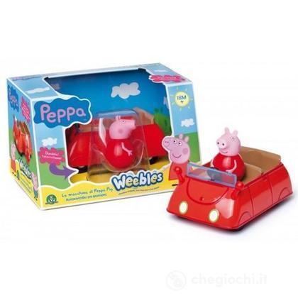Peppa Pig Peppa Weebles - Macchina Sempre-In-Piedi (CCP05121)