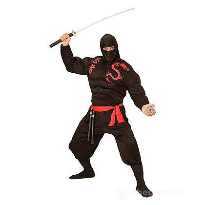 Costume Adulto Ninja muscoloso XL