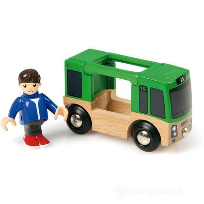 Autobus con personaggio