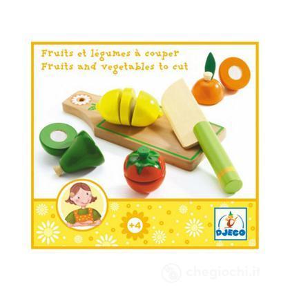 Frutta e verdure da tagliare dj06526 cucina djeco - Tagliare top cucina ...