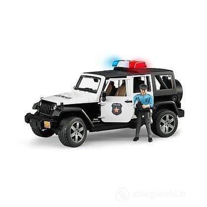 Jeep Wrangler polizia + Poliziotto (02526)