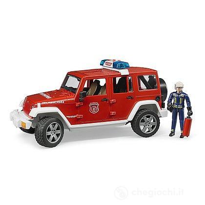 Jeep Wrangler Unlimited Rubicon Camion Vigili del Fuoco con pompiere (2528)