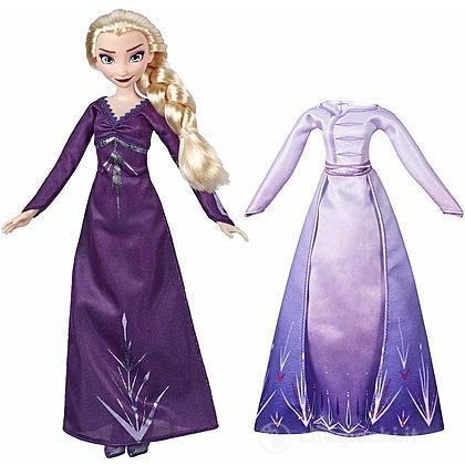 Elsa  di Arendelle con 2 vestiti Frozen 2